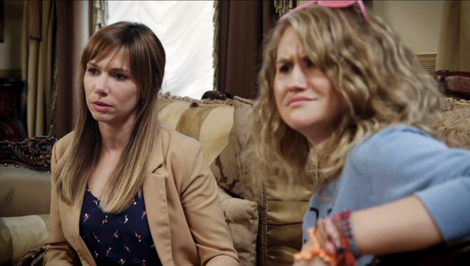 Jillian Bell and Charlotte Newhouse star in the new series from CC:Studios 'Idiotsitter.'