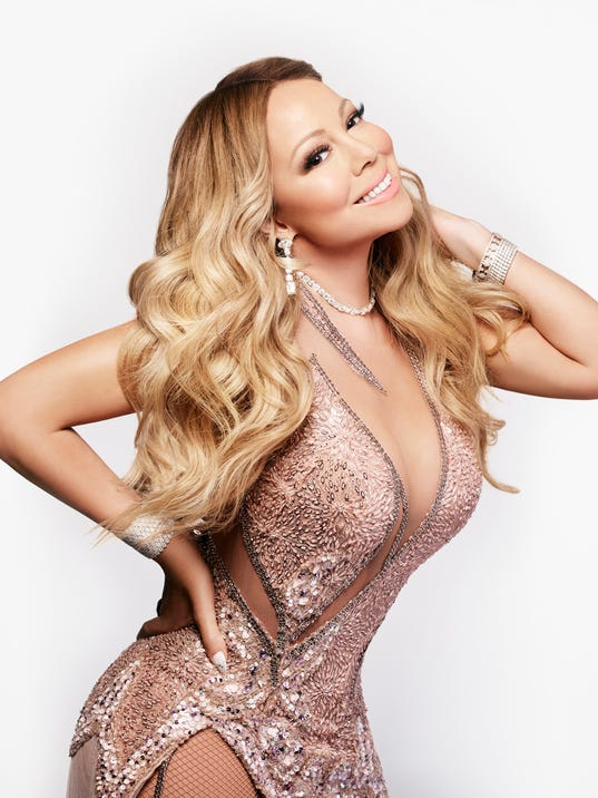 So Very Glam In Mariah S World
