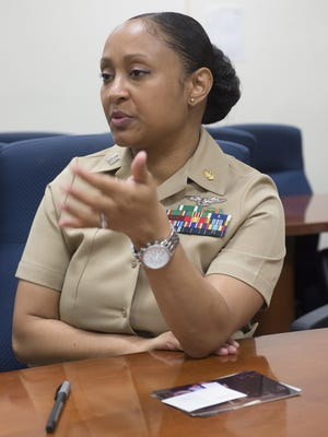 """Navy nurse, Lt. Kristel Ramsay, describes her career path in the Navy from the enlisted ranks to the officer corps. Ramsay is being recognized by Women of Color Magazine, as a """"Rising Star,"""" by selecting the 18-year Navy veteran for its """"The National Women of Color in Technology Award."""