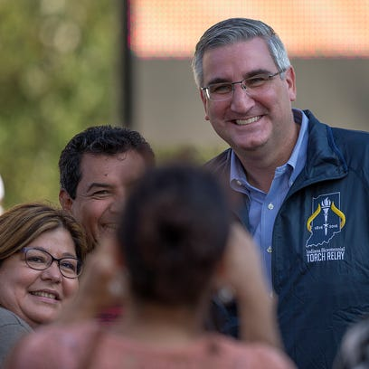 Profile: Holcomb seeks to lead after a career behind the scenes