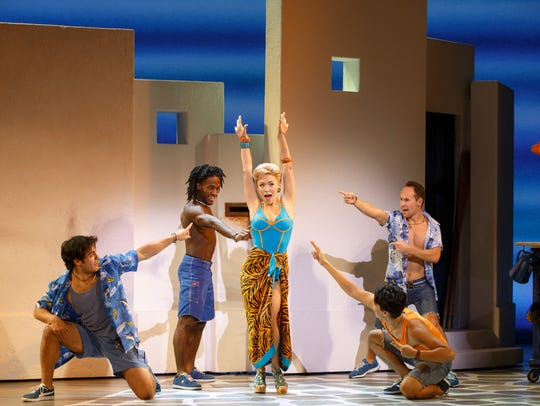 "Cast of ""Mamma Mia."""