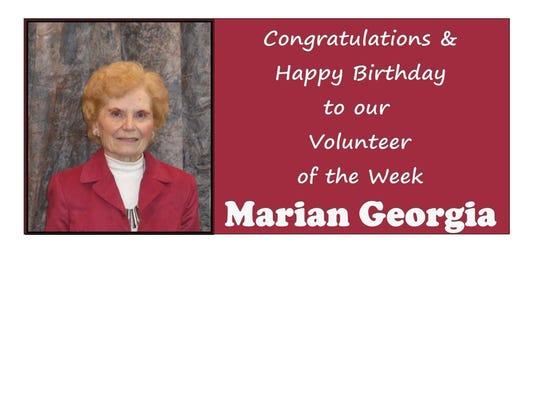 VOL OF WEEK 9-14-14 MARIAN GEORGIA.jpg