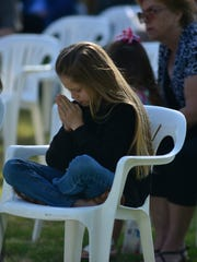 Hundreds attended the Tulare County Peace Officers Memorial Wednesday in Visalia.