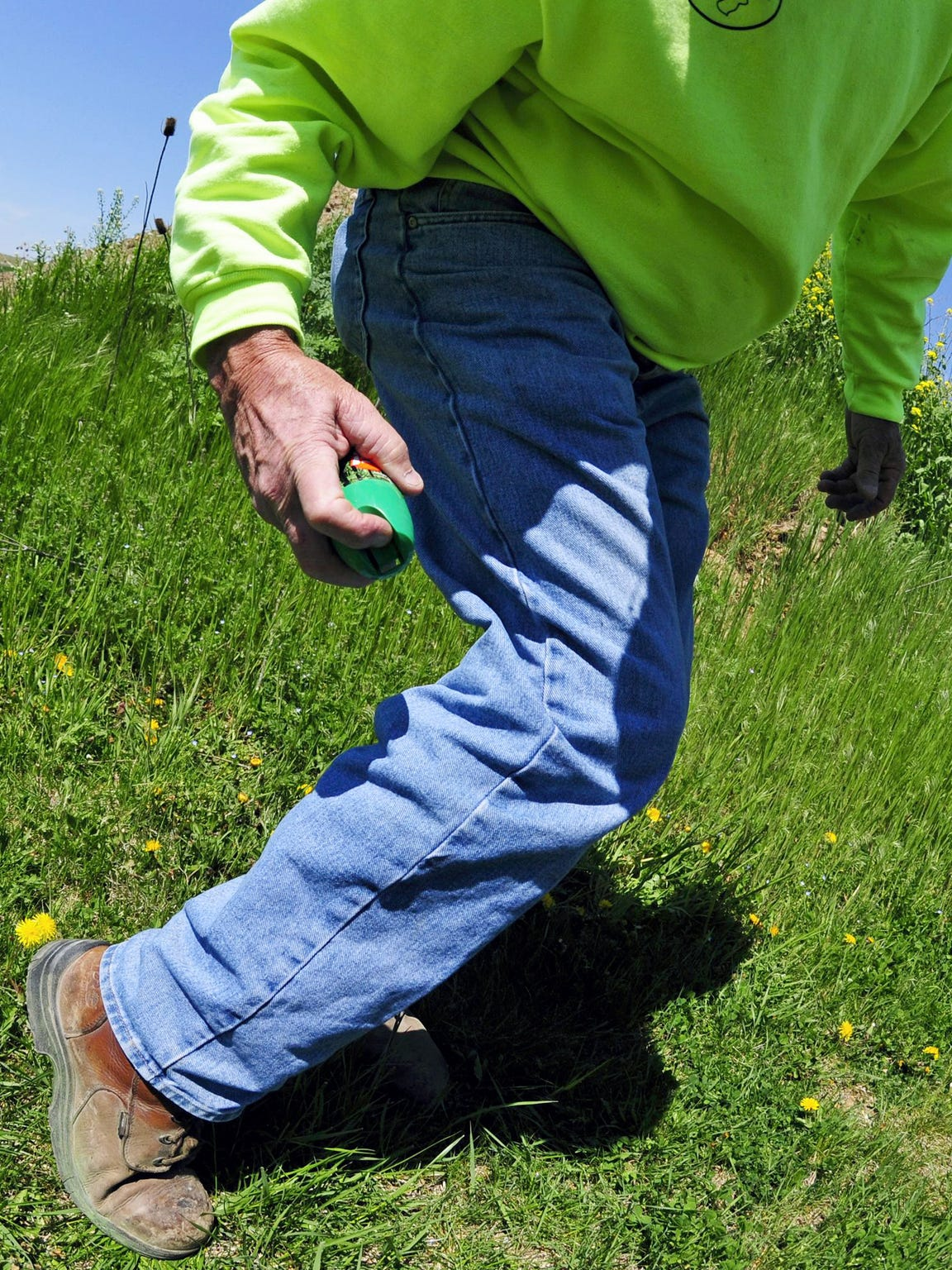 Randy Negley, who has battled Lyme disease, recommends tick repellents as prevention.