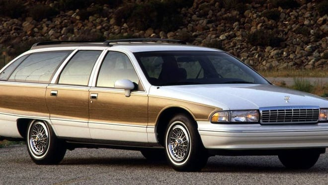 The 1991 to 1996 Chevy Caprice Station Wagon was a great looking vehicle that offered comfort and multi-use attributes. In 1994, it came powered by a Corvette style LT1 engine that produced 260 horsepower. The Chevy and sibling Buick full size wagons disappeared in 1997.