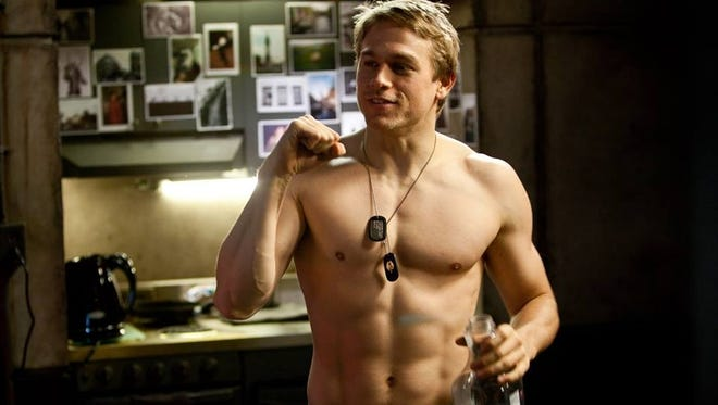 "Charlie Hunnam shows how he got into buff shape for ""Pacific Rim."" Read it and weep, ""Fifty Shades of Grey"" fans."