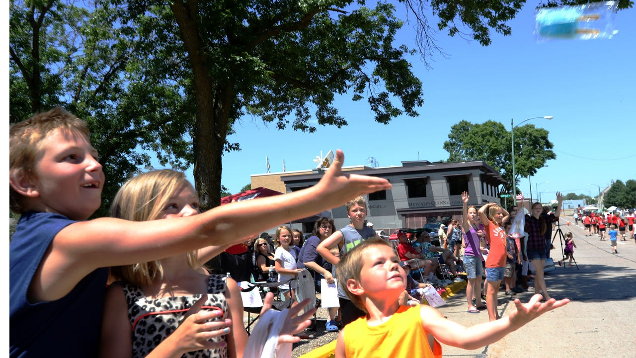 Community members enjoyed the 2016 Cranberry Blossom Festival Parade Sunday afternoon in Wisconsin Rapids.