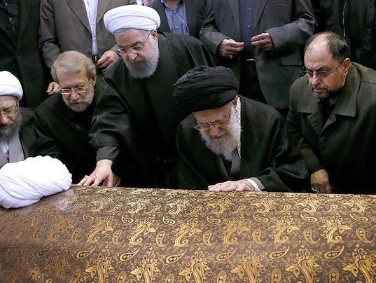 EPA IRAN PEOPLE RAFSANJANI FUNERAL HUM PEOPLE IRA
