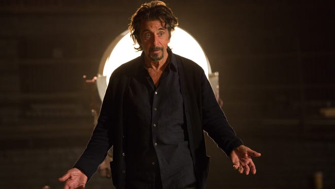"This photo provided by courtesy of Alchemy shows Al Pacino as Simon Axler in the film, ""The Humbling."""