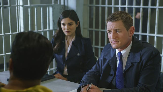 Philip Winchester stars as Peter Stone in NBC's 'Chicago Justice.'