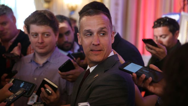 Corey Lewandowski served as Donald Trump's campaign manager during the Republican nomination battle in 2016.