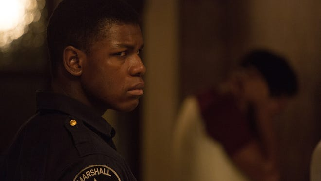 John Boyega stars as a security guard embroiled in civil unrest in 'Detroit.'