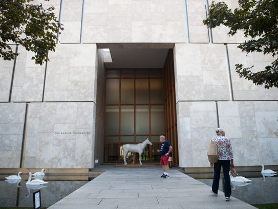 Exterior of the Barnes Foundation in Philadelphia.
