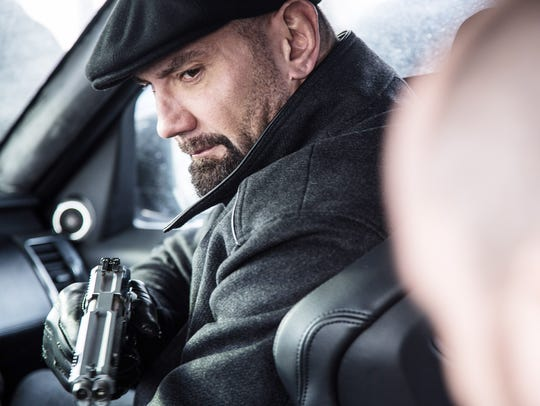 "Dave Bautista is an old-school Bond henchman as Mr. Hinx in ""Spectre."""