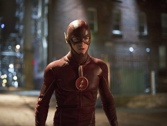 Grant Gustin as CW's 'The Flash.'