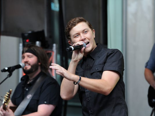 """FOX & Friends"" All American Concert Series - Scotty McCreery"