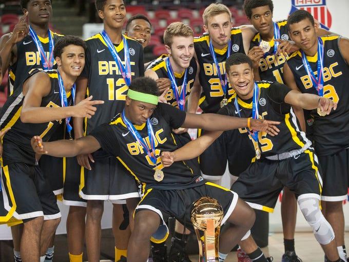 The AAU 16U 10th grade champions, Boston, Mass.-based