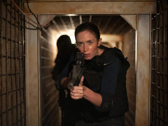 Emily Blunt stars in the movie Sicario which was filmed