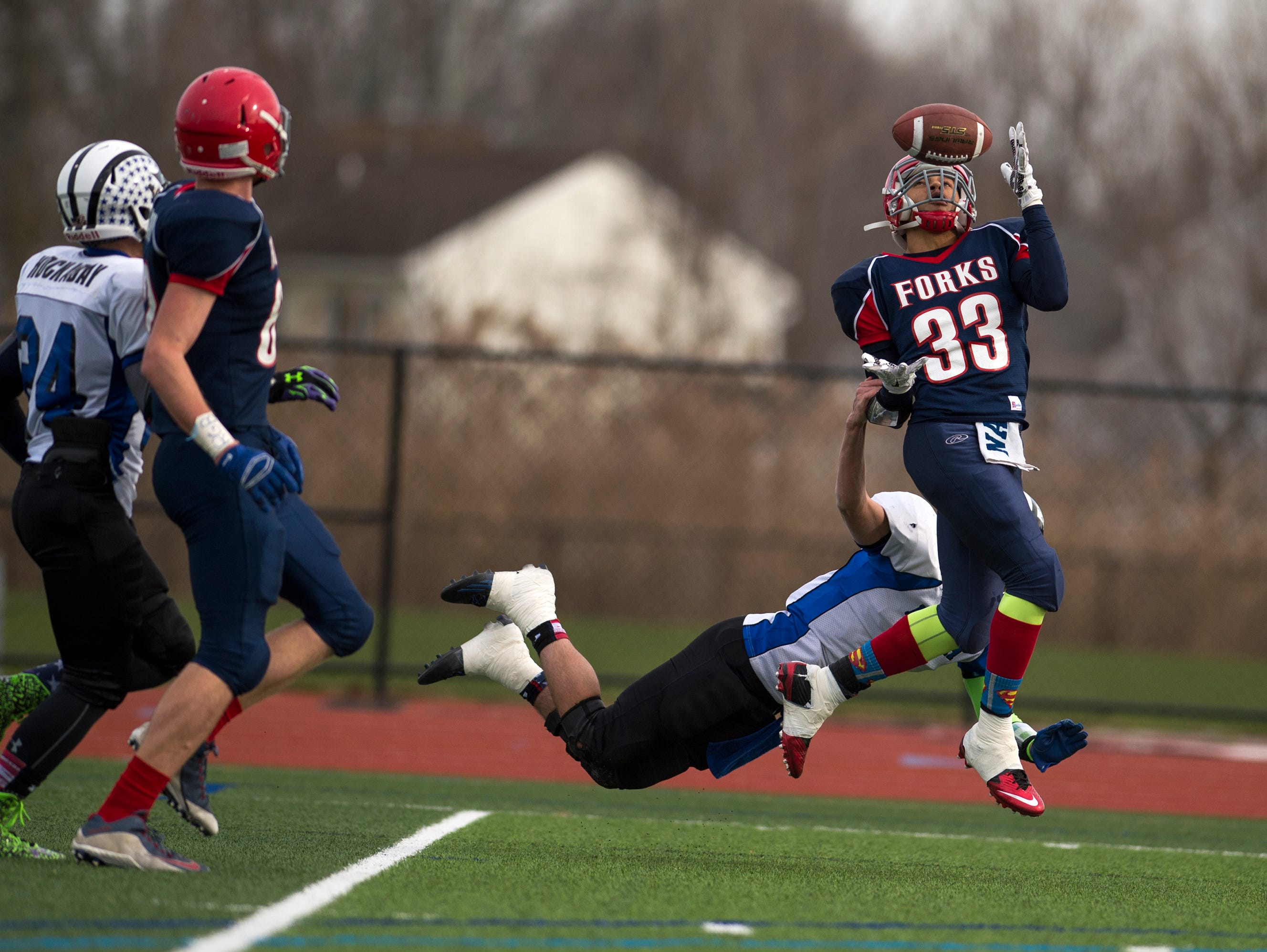 Chenango Forks traveled to Syracuse to take on Bath in the Class C state playoff semifinals on Saturday, Nov. 21, 2015.