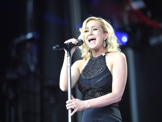 Kellie Pickler performs at the 2015 CMA Music Festival