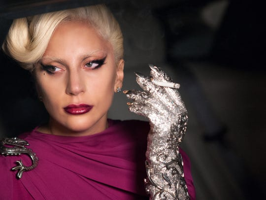 "Lady Gaga as the Countess in ""American Horror Story"