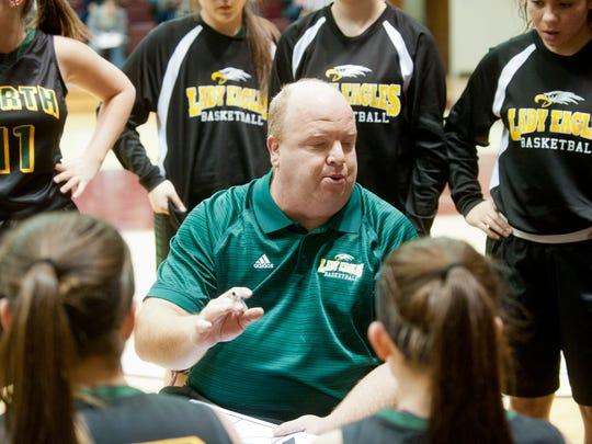 North Bullitt Lady Eagles head basketball coach David