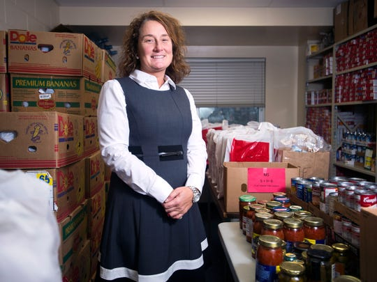 Maine-Endwell High School social studies teacher Rachel Murat founded the food pantry M-EALS (Maine Endwell Assisting Local Spartans) which feeds around 100 district families.