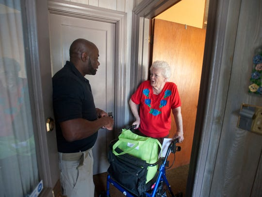GMeals Foundation founder and GMeals-on-Wheels Program