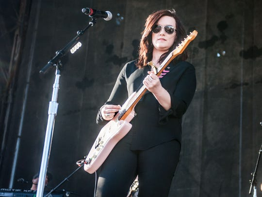 Country music singer-songwriter Brandy Clark will be among three headliners of the Way Out West Fest  on Sept. 17.