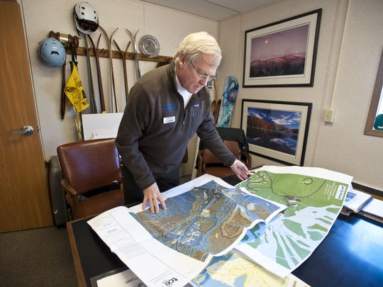 Jay Peak Resort president Bill Stenger looks at proposed