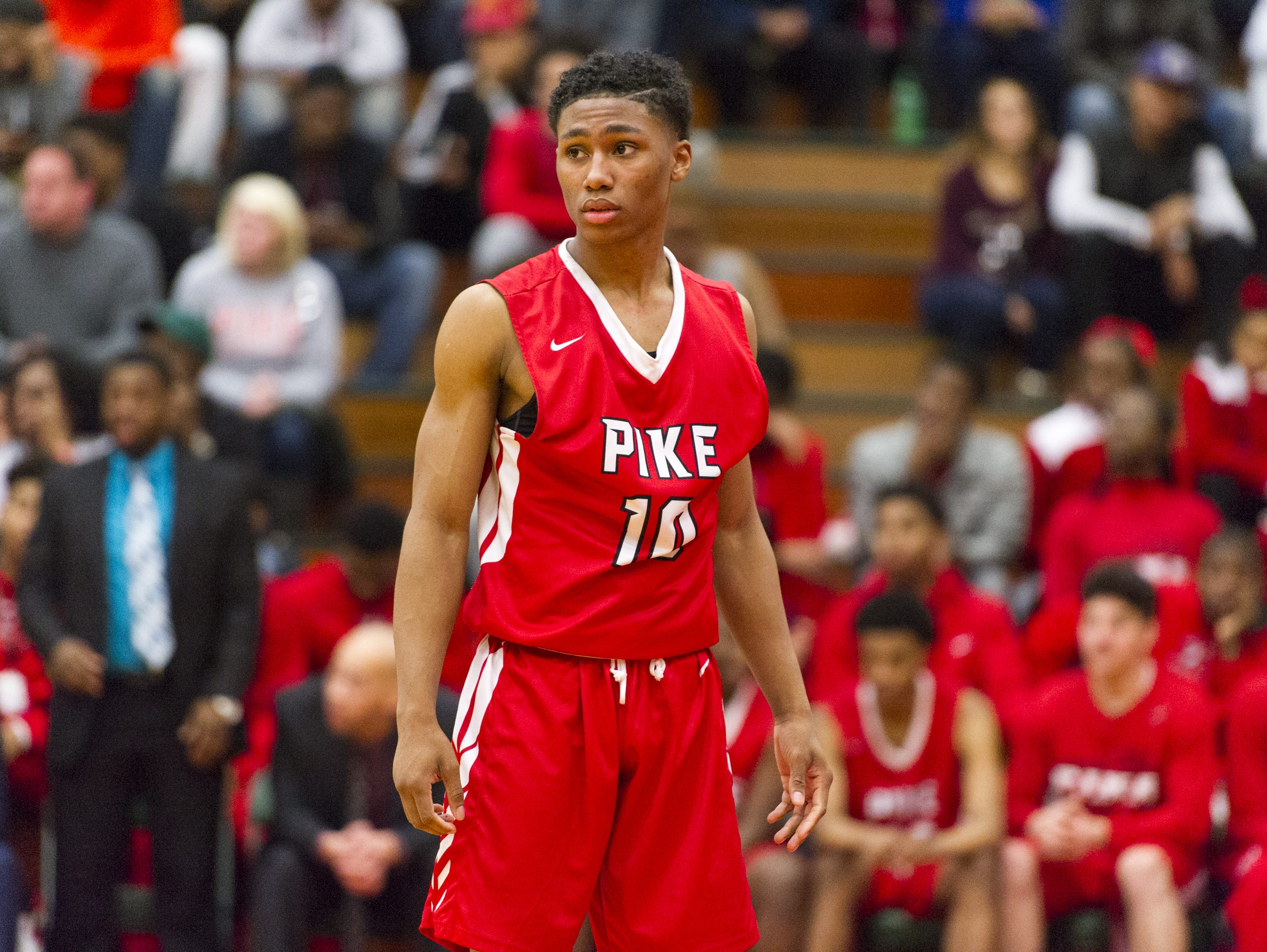 Justin Roberts has traded Pike for Nevada's Findlay Prep.