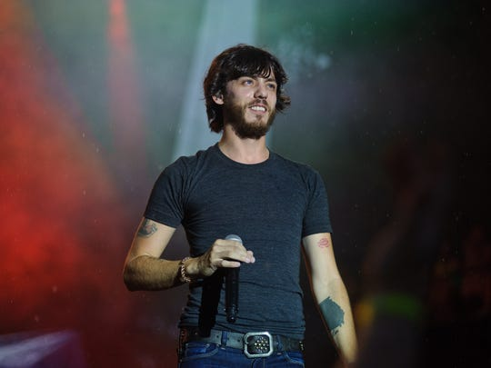 Chris Janson performs on day 3 of Country Thunder Wisconsin in 2016. Janson will perform at Ocean City SunFest in 2016.