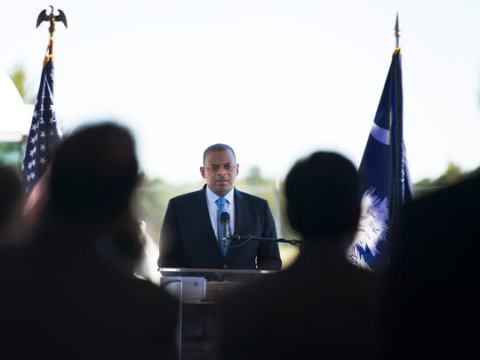 U.S. Secretary of Transportation Anthony Foxx visits ITIC in Greenville on Friday, September 30, 2016.
