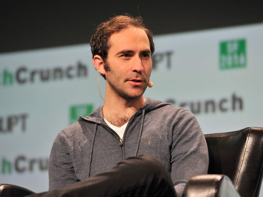 Co-founder and CEO of Twitch Emmett Shear speaks onstage