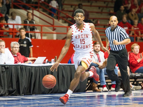 UL freshman guard P.J. Hardy has provided a consistent offensive spark off the bench for the Cajuns this season.
