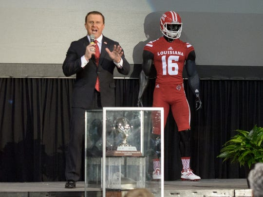 UL coach Mark Hudspeth does not like hte idea of playing