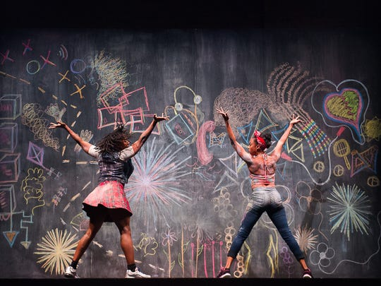 "Scenes from ""Black Girl: Linguistic Play"" evoke childhood"