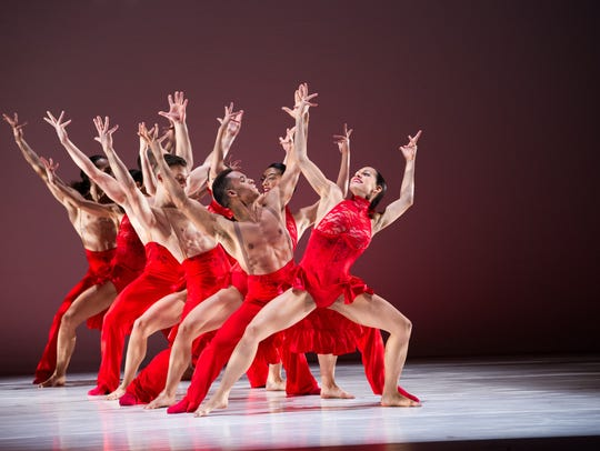 The Ballet Hispanico company.