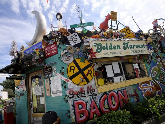 North Lansing's ever eclectic Golden Harvest restaurant on Turner St.