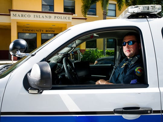 File: Marco Island Police Sergeant Mark Haueter.