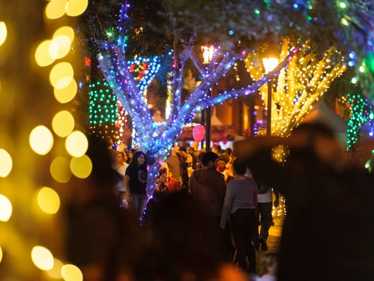 Take your family to the 25th annual lights in Glendale and stick around for many other holiday-themed events throughout the season through Jan. 12.