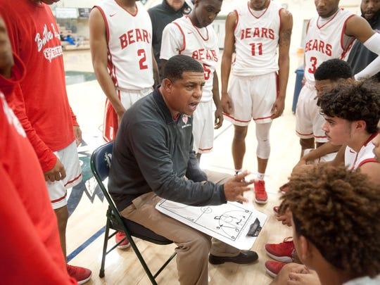 Butler head basketball coach Kentreal Goodin talks