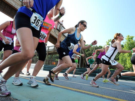 Runners take part in a past run at the Mountain Sports
