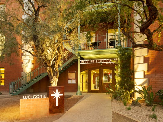 The 45,000 square-foot Church of Scientology in the
