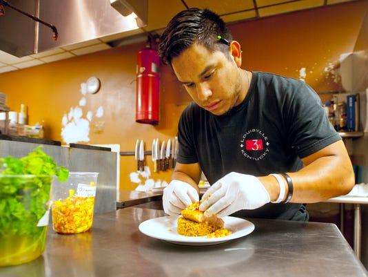 Bistro 301's chef Chase Schnatter