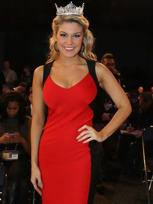 Miss America 2013 winner Mallory Hagan in 2013.