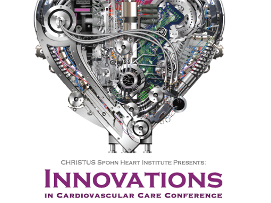 The Innovations in Cardiovascular Care Conference will be June 9-10 at Congressman Solomon P. Ortiz International Center.