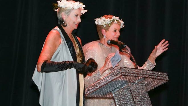 Magical Fairy Queens: executive director Liz Armstrong and museum chairman Donna MacMillan.