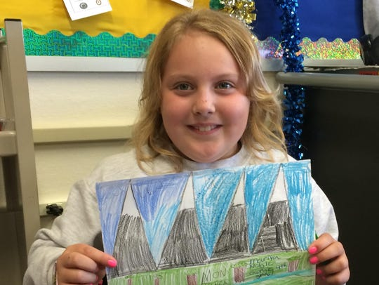 Mariya Noble, 9, Chief Joseph Elementary School fourth-grader,