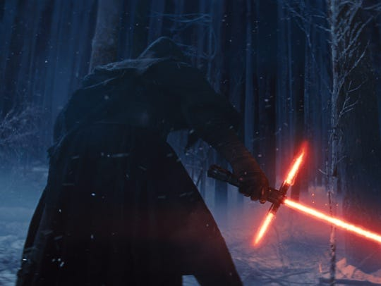 Kylo Ren is a mysterious new character with a lightsaber